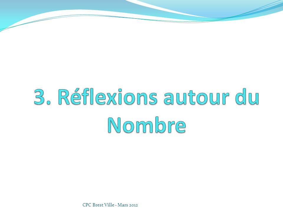 3. Réflexions autour du Nombre