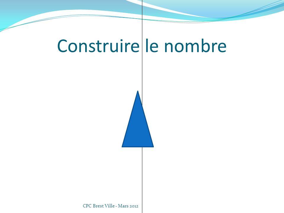 Construire le nombre CPC Brest Ville - Mars 2012