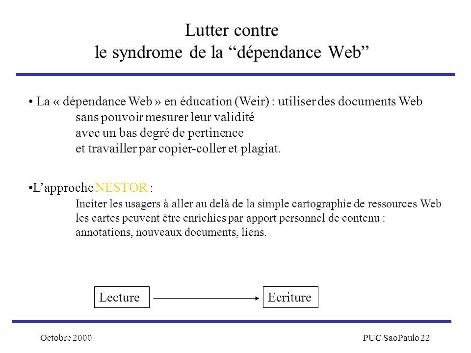 Lutter contre le syndrome de la dépendance Web