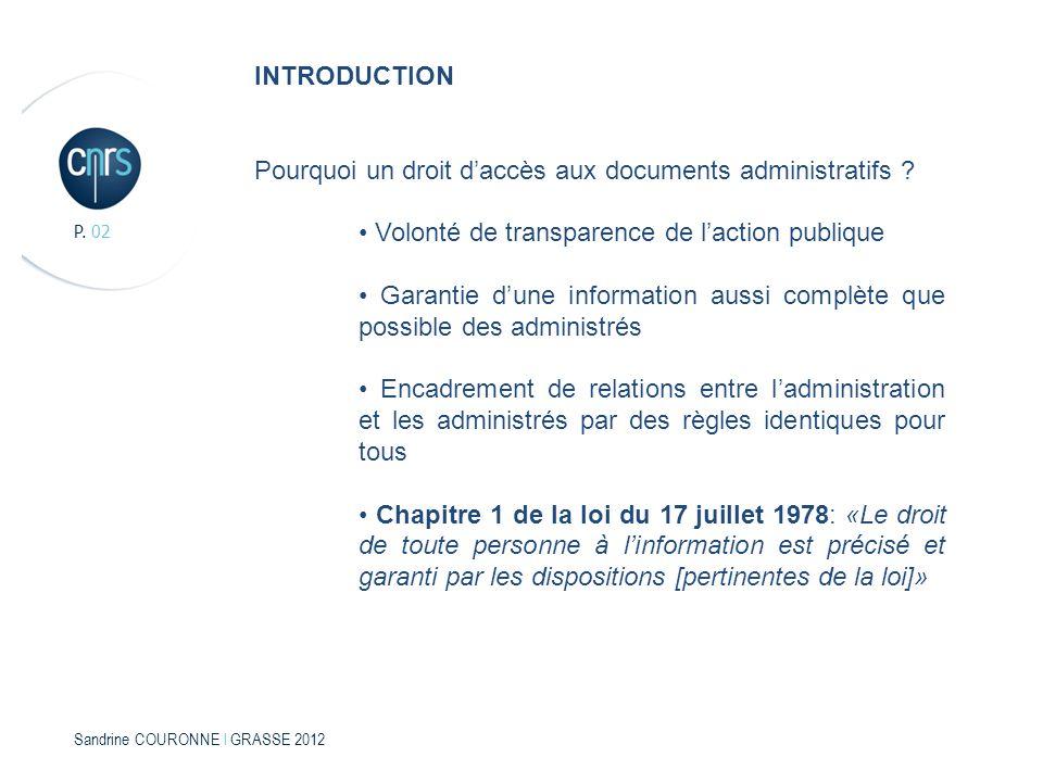 Pourquoi un droit d'accès aux documents administratifs