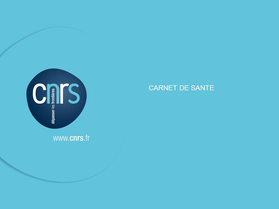 CARNET DE SANTE