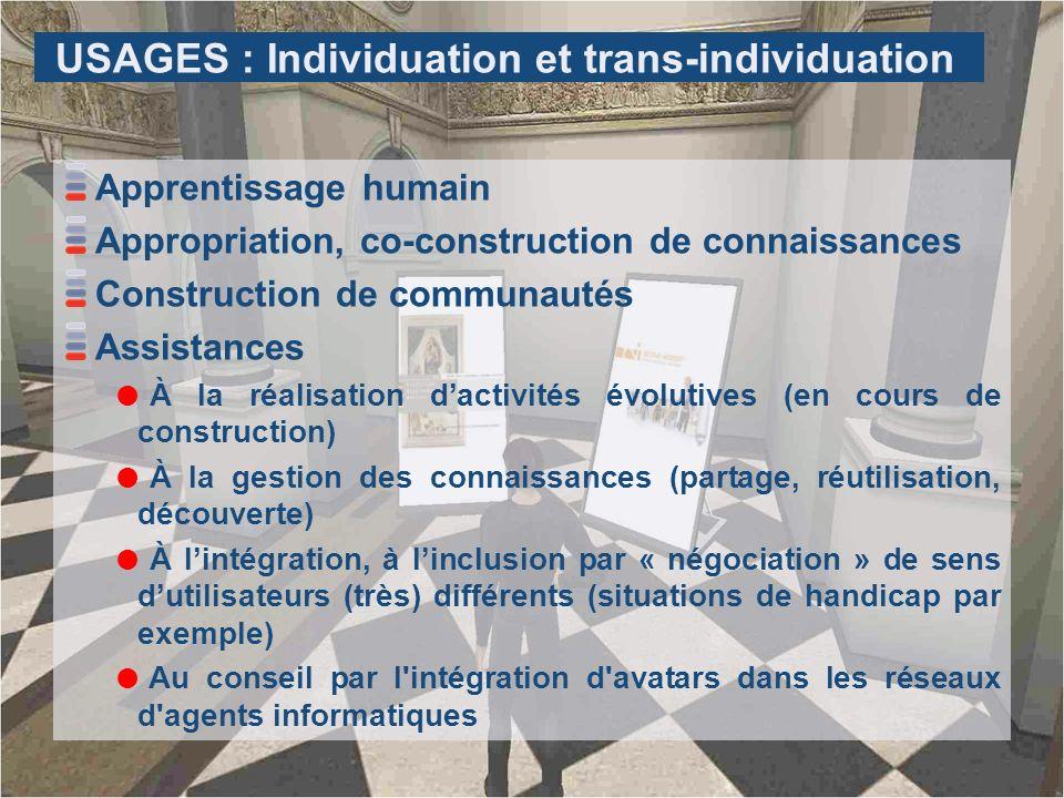 USAGES : Individuation et trans-individuation