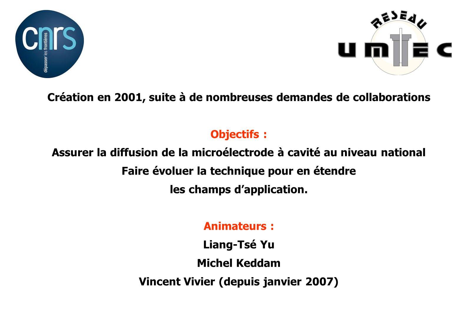 Création en 2001, suite à de nombreuses demandes de collaborations