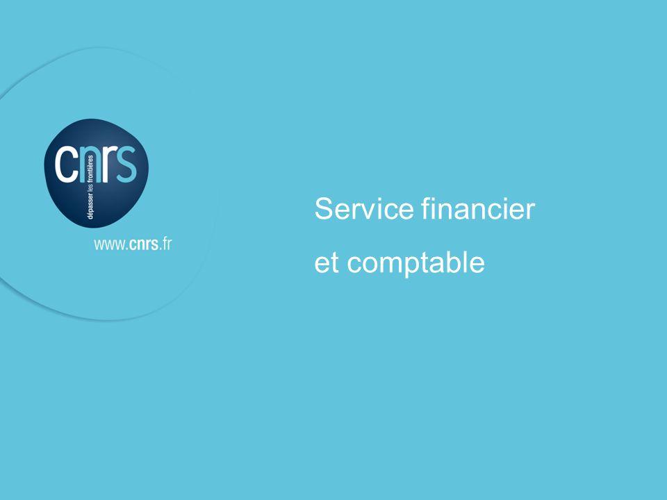 Service financier et comptable