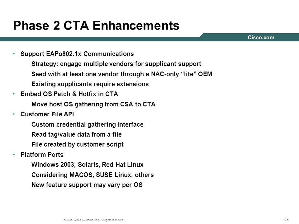 Phase 2 CTA Enhancements