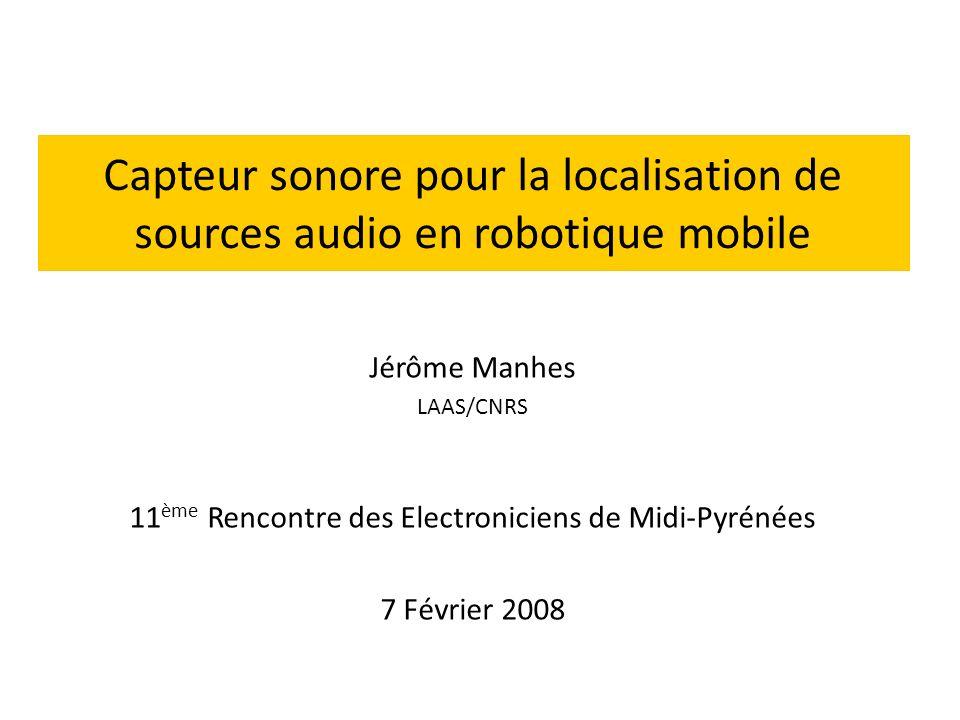 11ème Rencontre des Electroniciens de Midi-Pyrénées