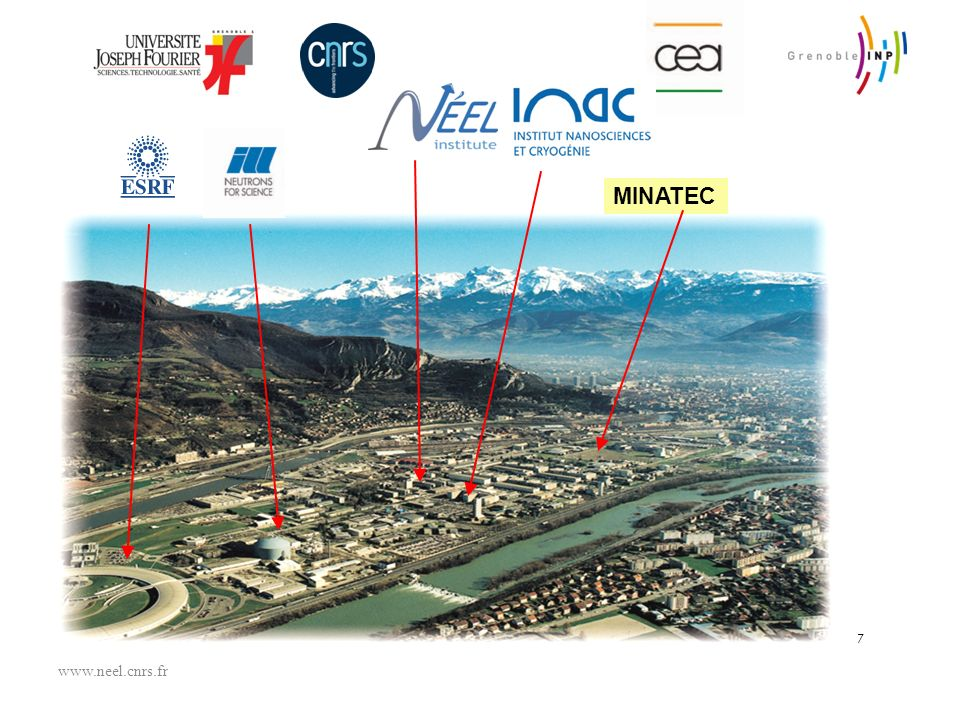 26/03/2017 MINATEC 7 www.neel.cnrs.fr