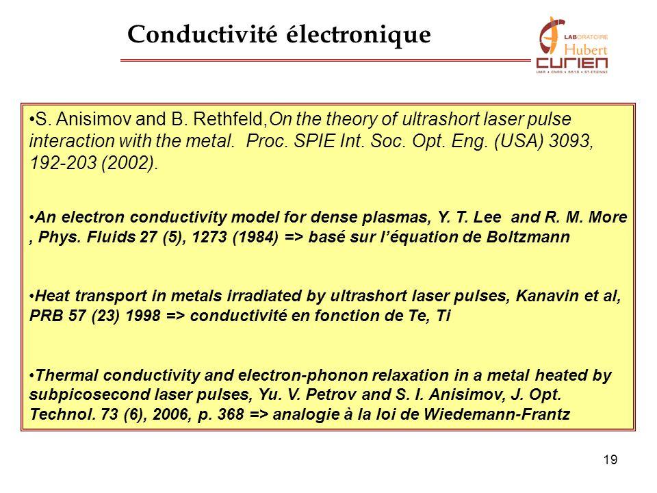 Conductivité électronique