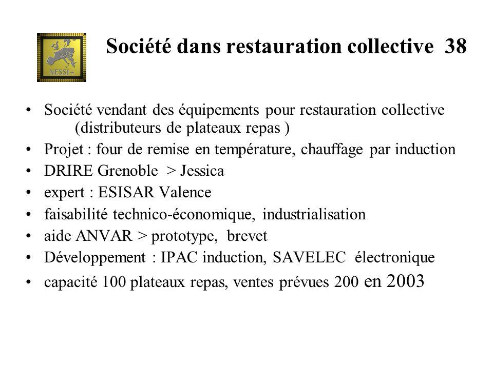 Société dans restauration collective 38