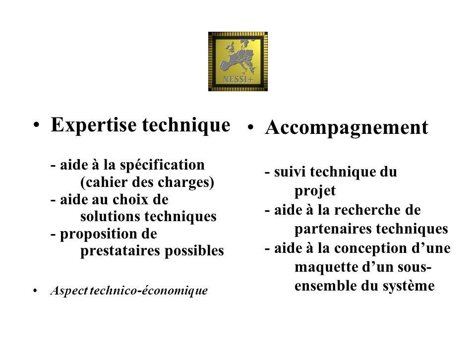 Expertise technique. - aide à la spécification. (cahier des charges)
