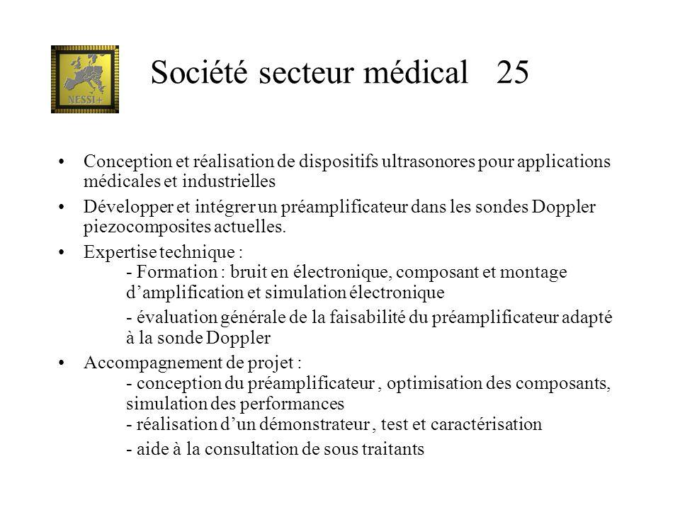 Société secteur médical 25