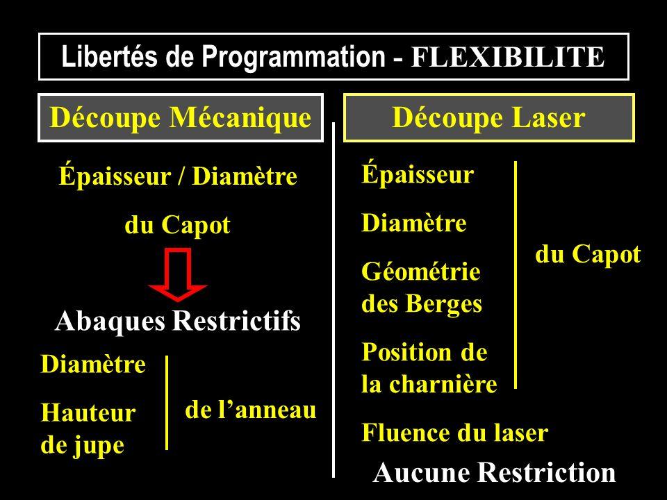 Libertés de Programmation - FLEXIBILITE