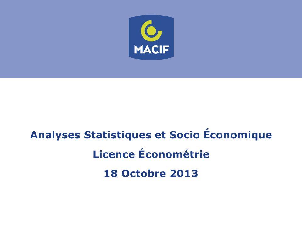 Analyses Statistiques et Socio Économique