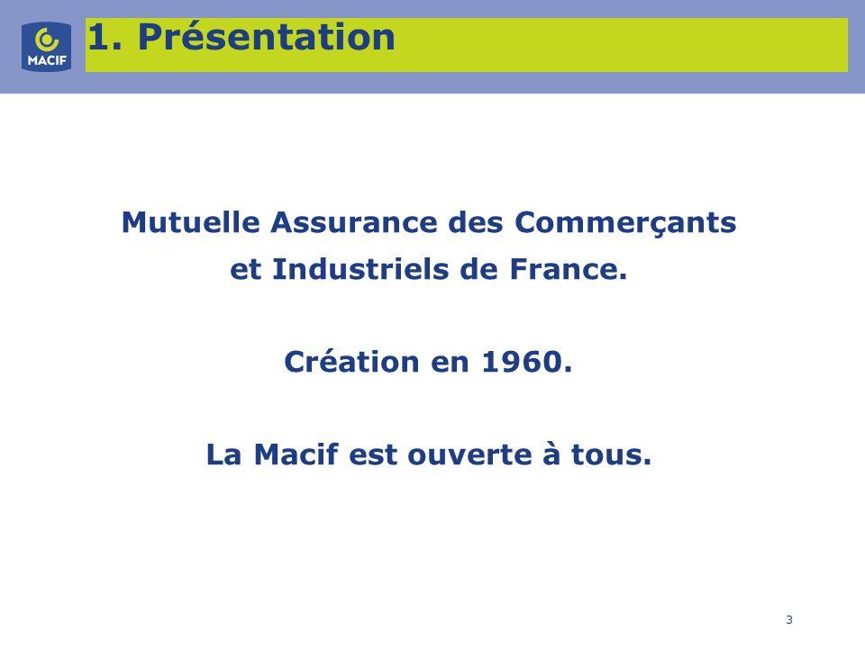 Mutuelle Assurance des Commerçants La Macif est ouverte à tous.