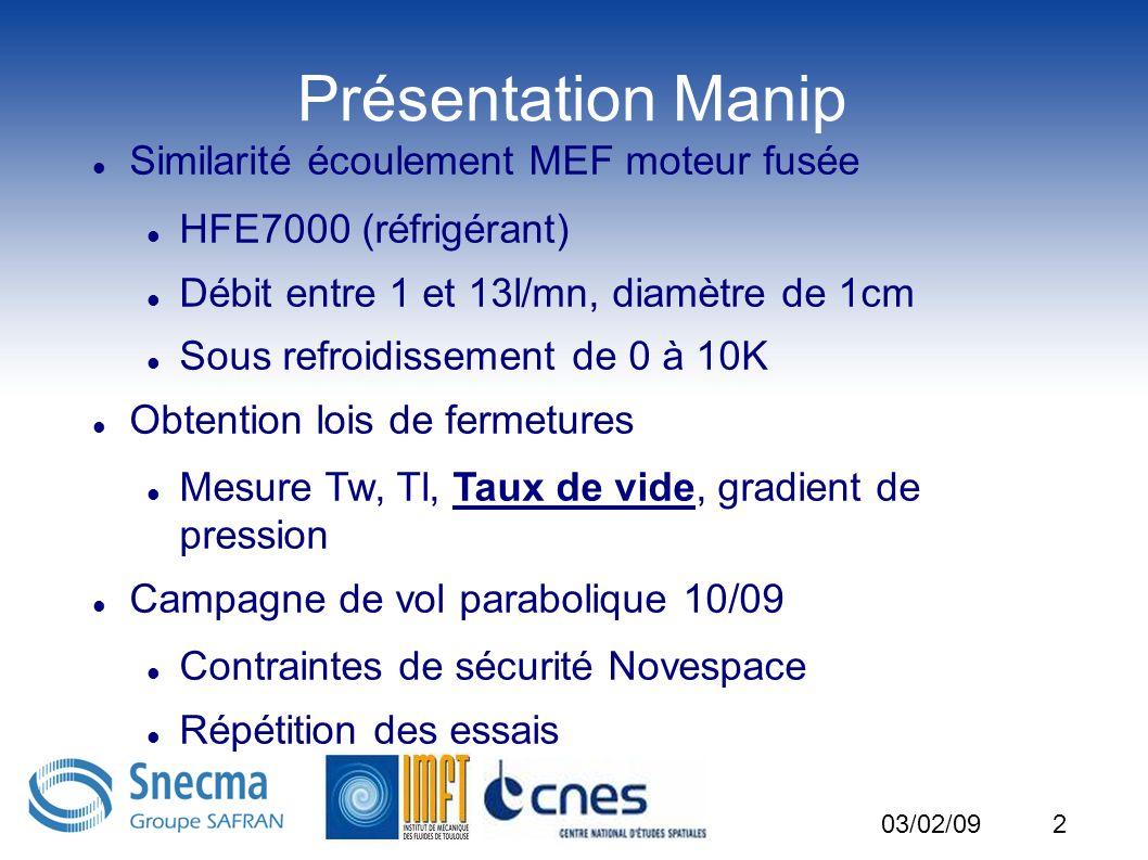 Présentation Manip Similarité écoulement MEF moteur fusée