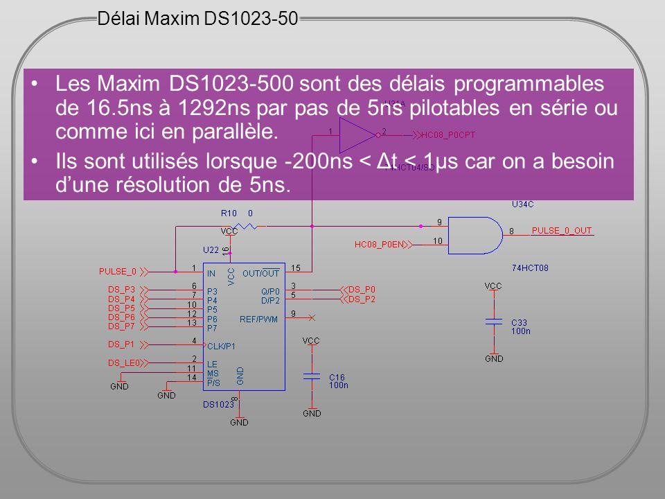 Délai Maxim DS1023-50