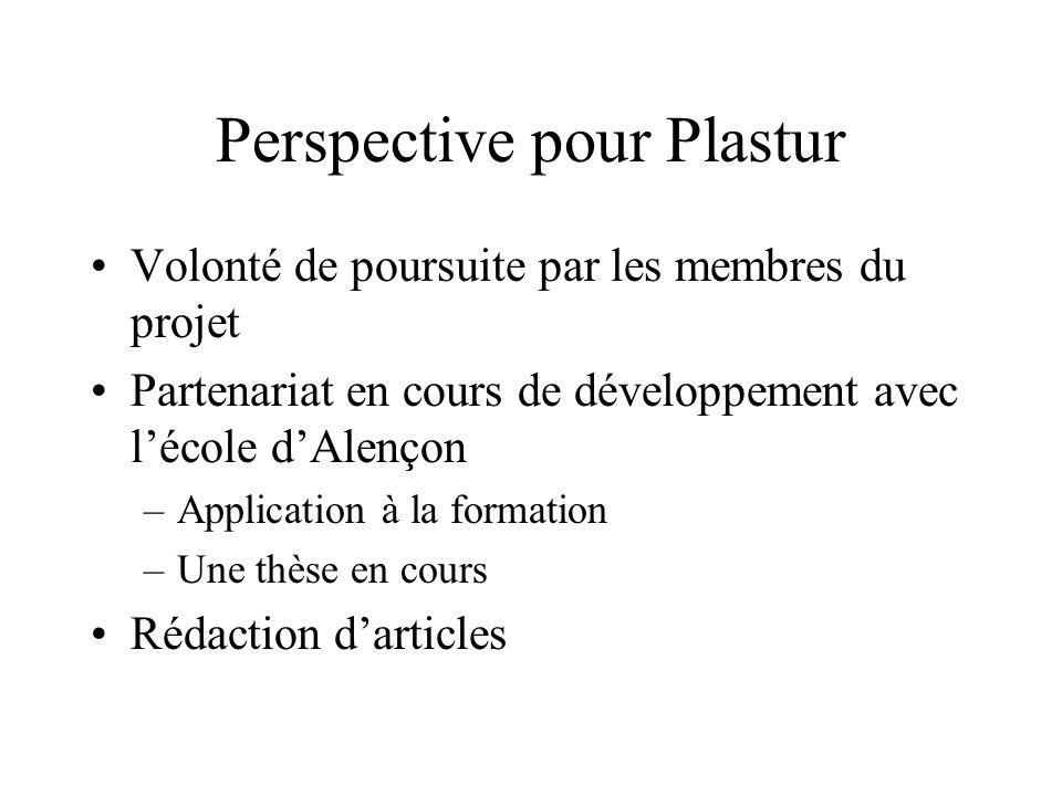 Perspective pour Plastur