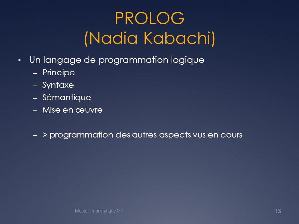 PROLOG (Nadia Kabachi)
