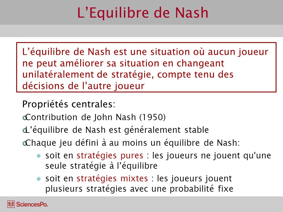 how to find nash equilibr