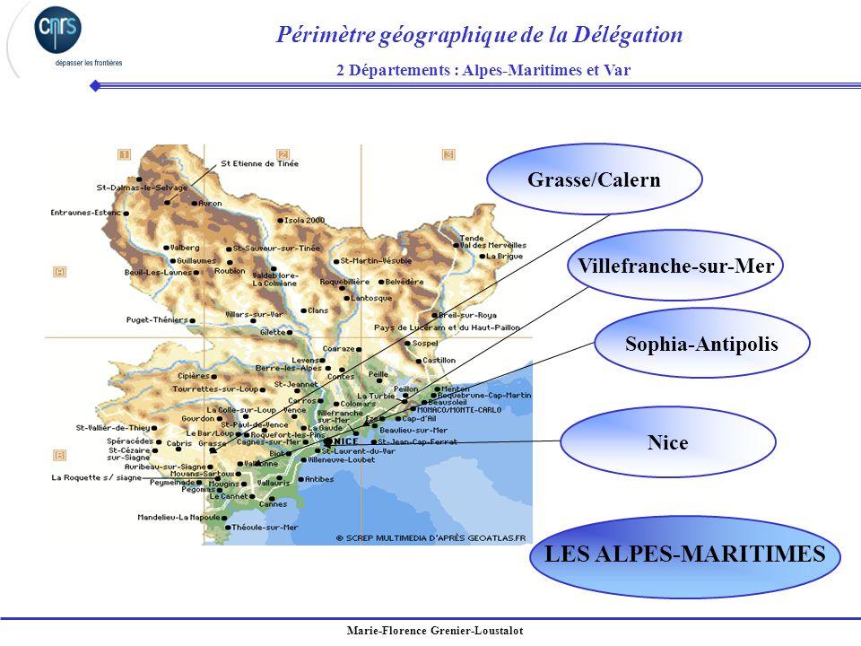 2 Départements : Alpes-Maritimes et Var