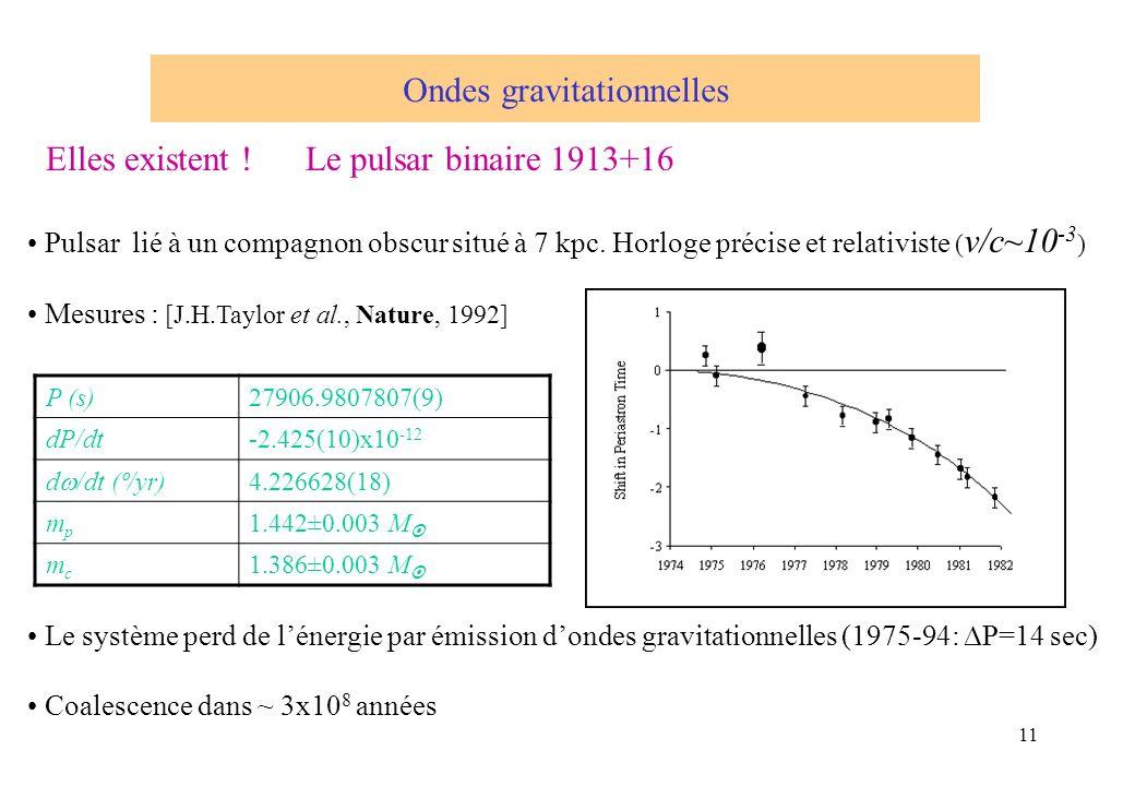 Elles existent ! Le pulsar binaire 1913+16