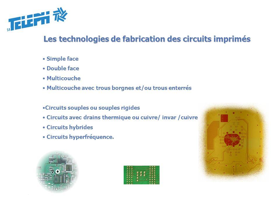 Les technologies de fabrication des circuits imprimés