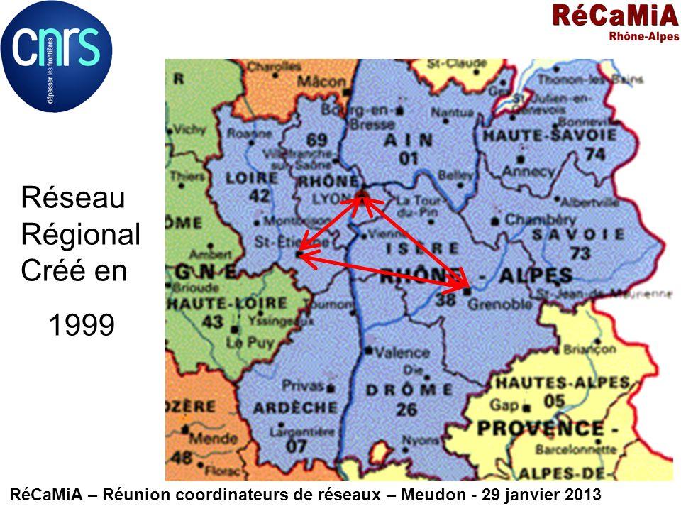 Réseau Régional Créé en