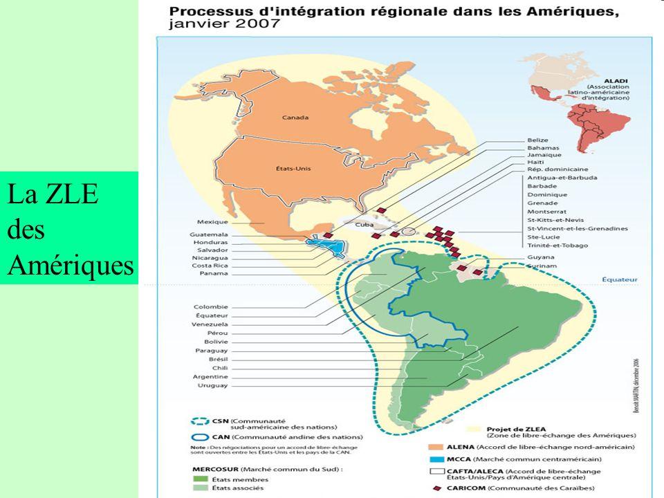 La ZLE des Amériques Un moyeu-rayon sur Mercosur à l'œuvre 73 73