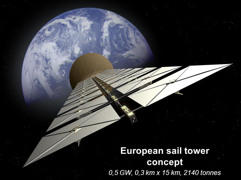 European sail tower concept