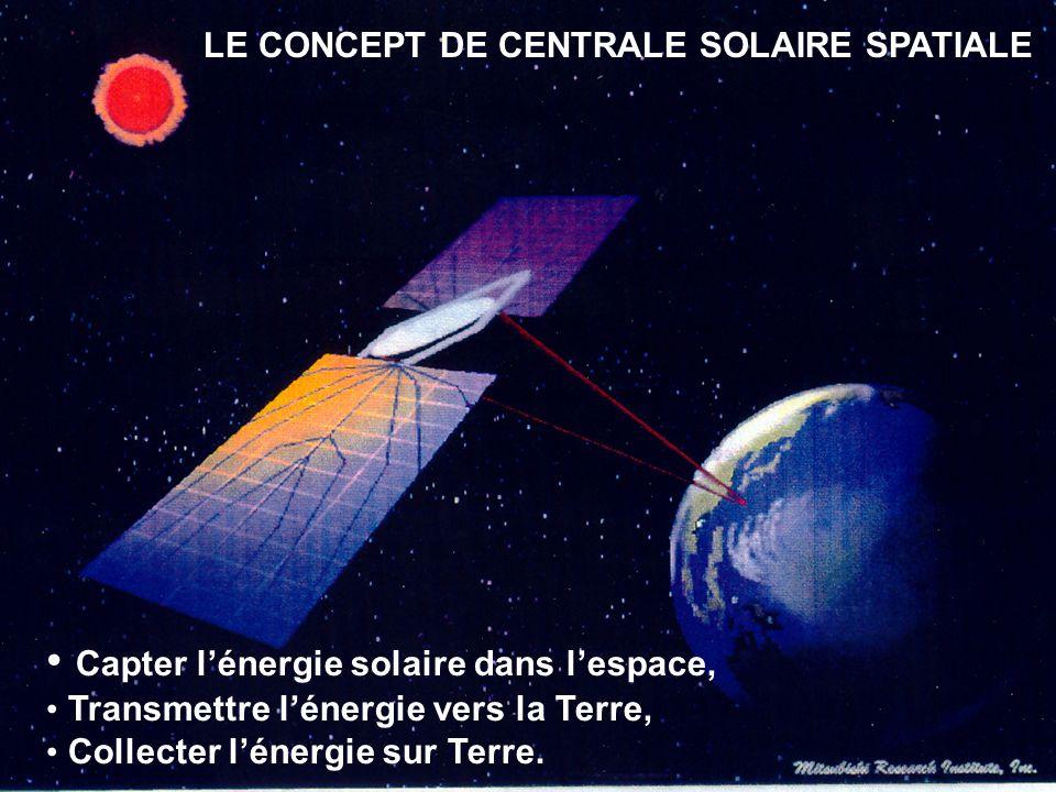 LE CONCEPT DE CENTRALE SOLAIRE SPATIALE