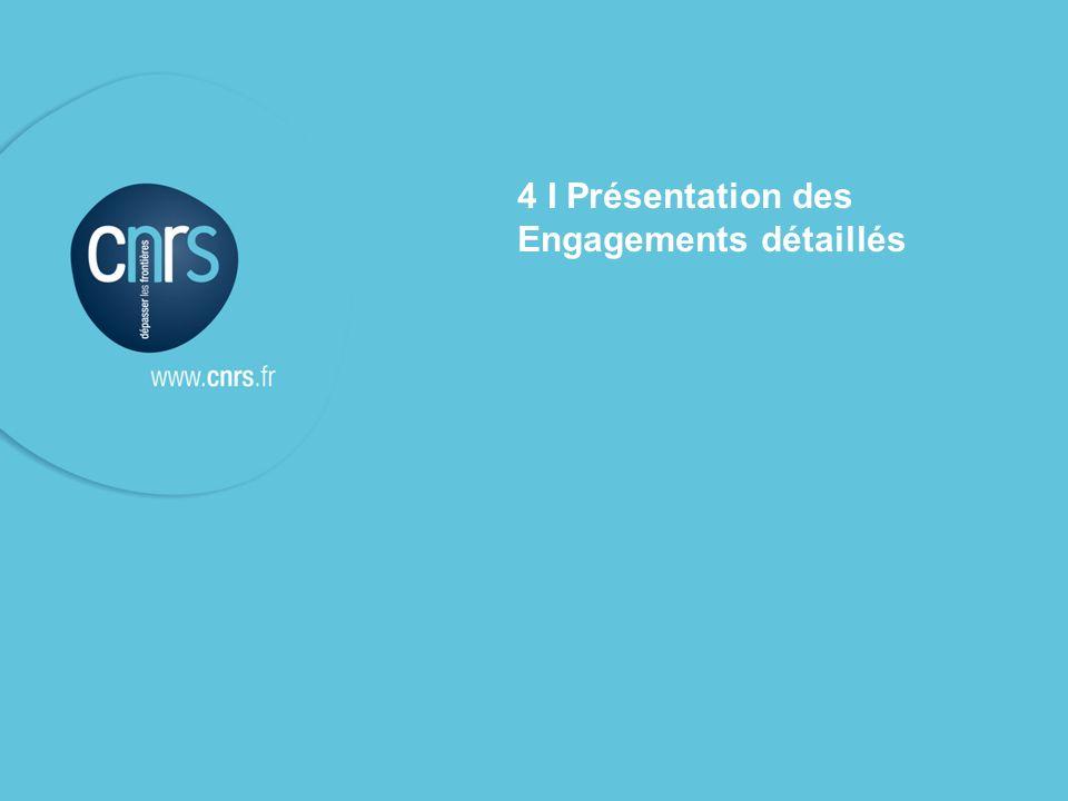 4 I Présentation des Engagements détaillés