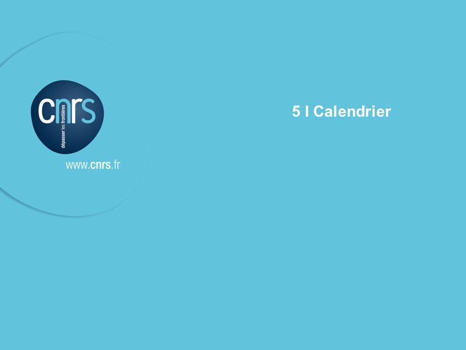 5 I Calendrier