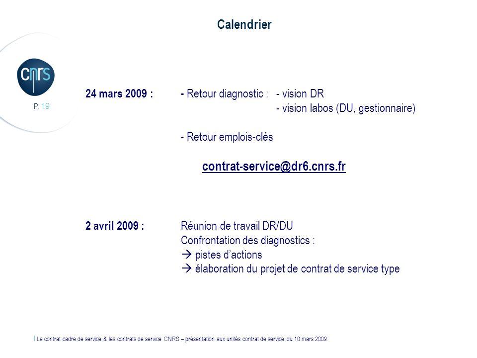 Calendrier contrat-service@dr6.cnrs.fr