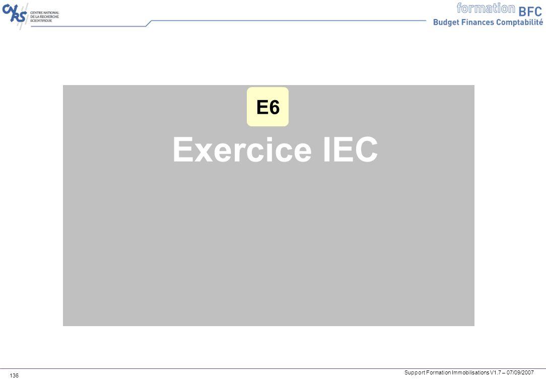 E6 Exercice IEC