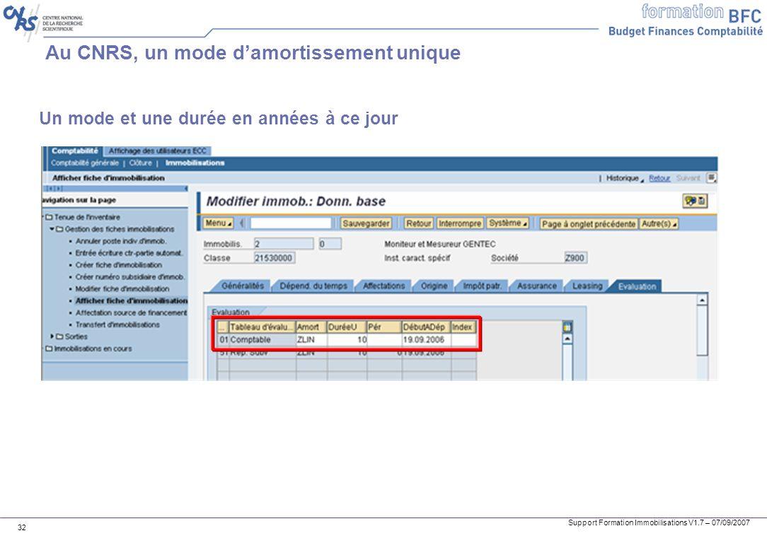 Au CNRS, un mode d'amortissement unique