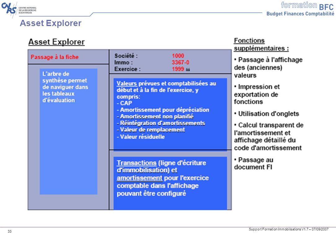 Asset Explorer