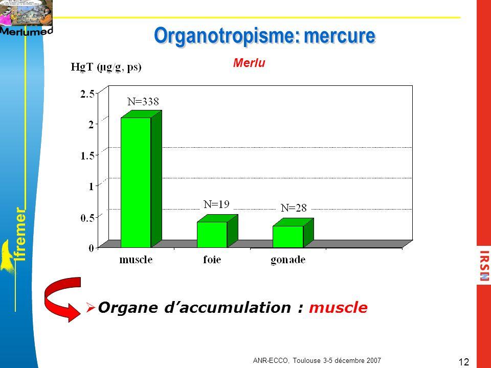 Organotropisme: mercure
