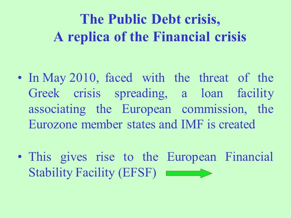 The Public Debt crisis, A replica of the Financial crisis