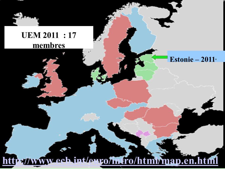 UEM 2011 : 17 membres Estonie – 2011e