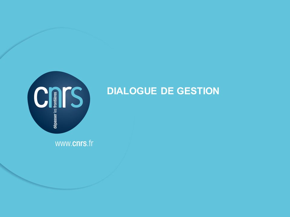 DIALOGUE DE GESTION SFC - DR12 - 21 novembre 2011