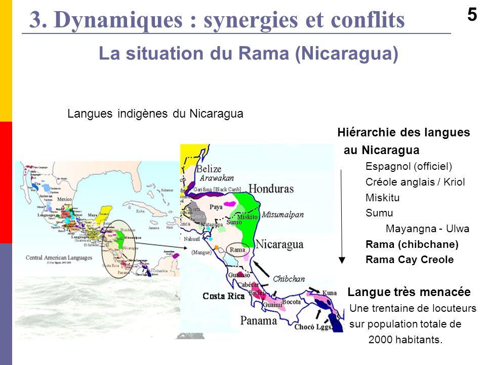 3. Dynamiques : synergies et conflits