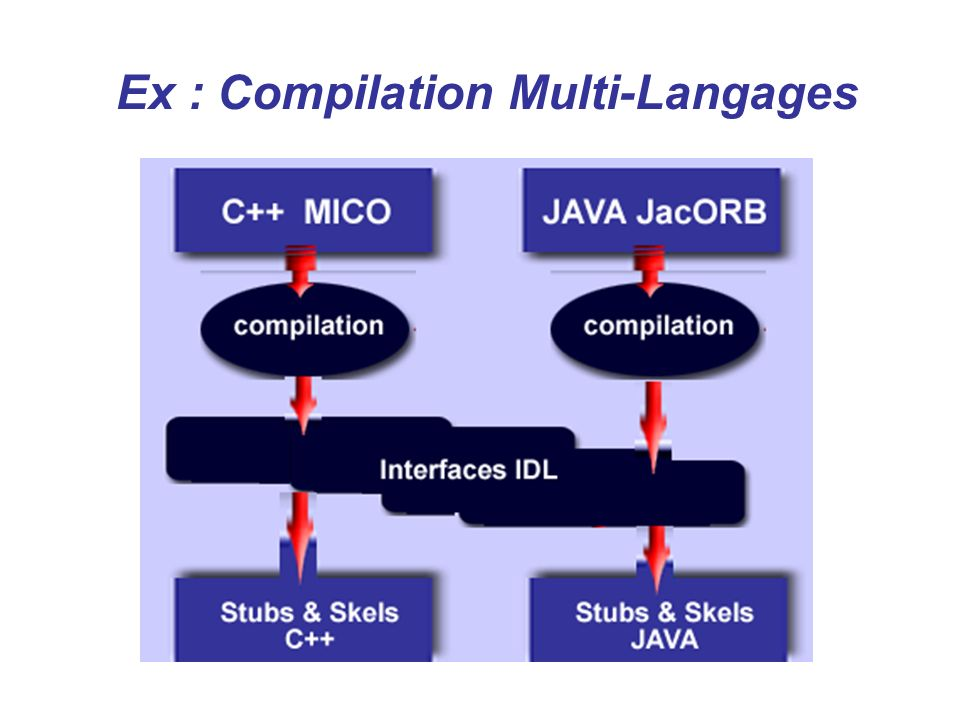 Ex : Compilation Multi-Langages