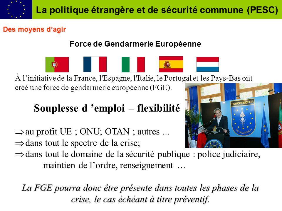 Force de Gendarmerie Européenne