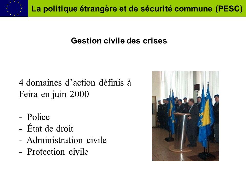 Gestion civile des crises