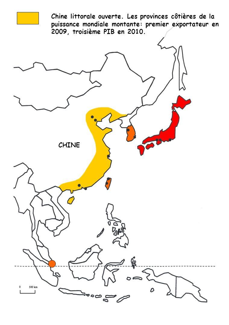 Chine littorale ouverte