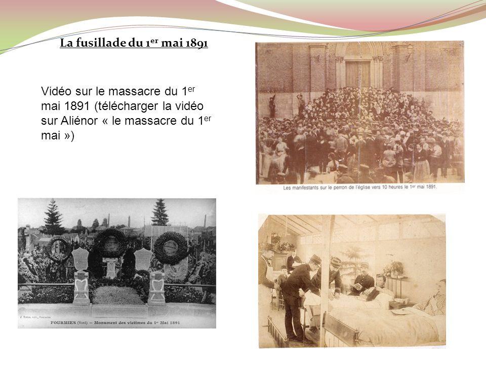 La fusillade du 1er mai 1891 1ermai 1891.