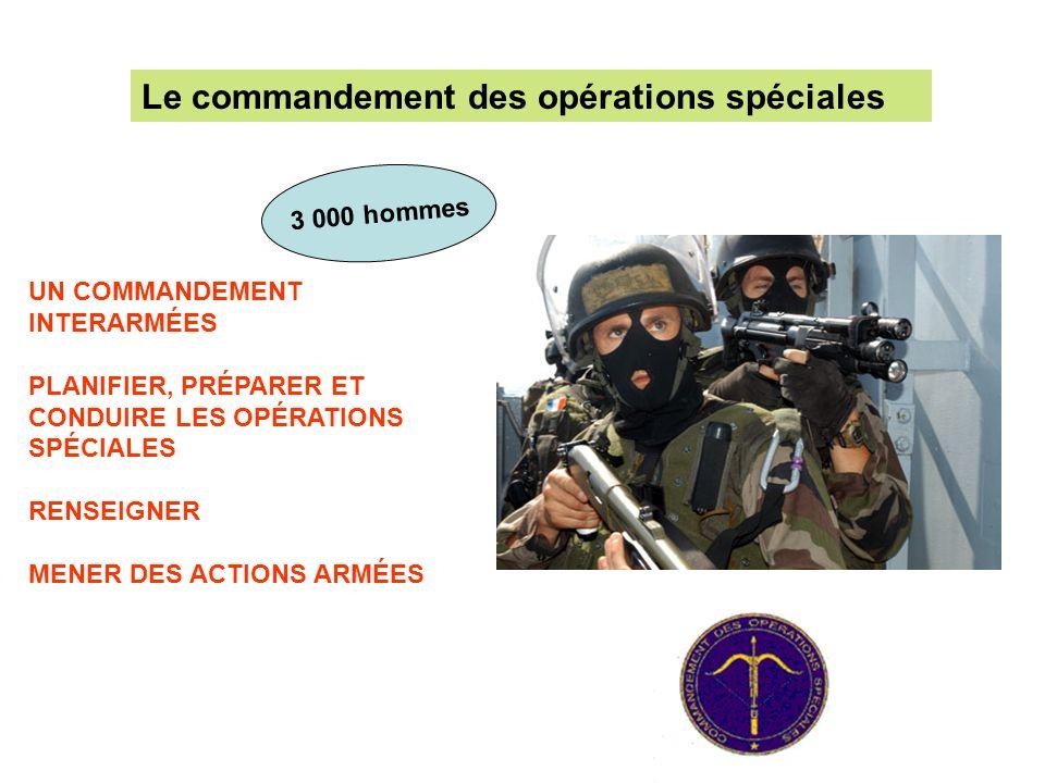 Le commandement des opérations spéciales