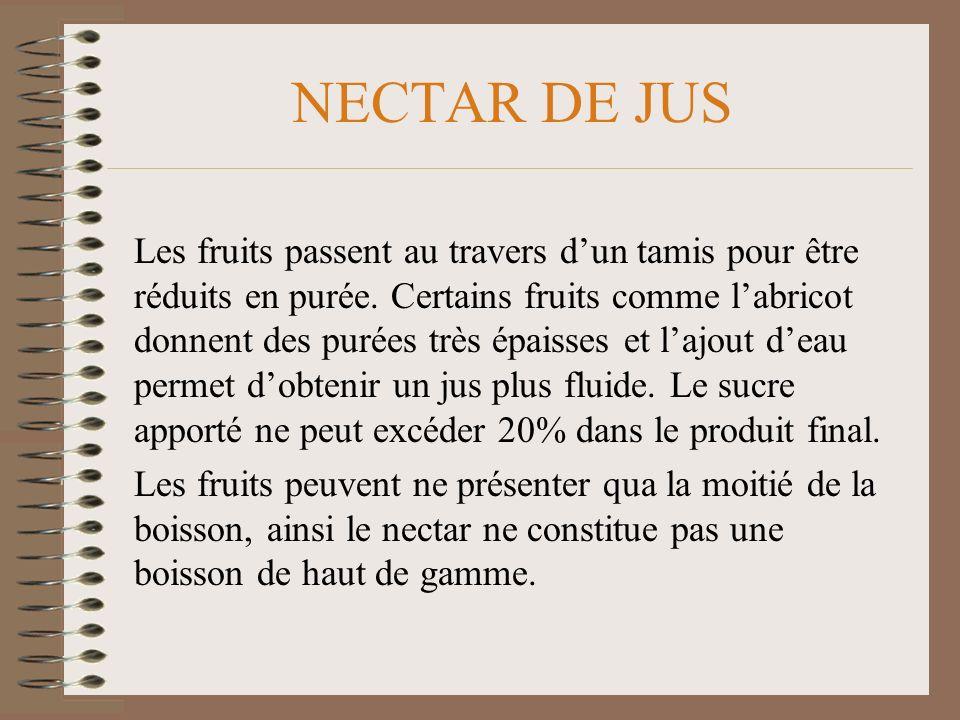 NECTAR DE JUS