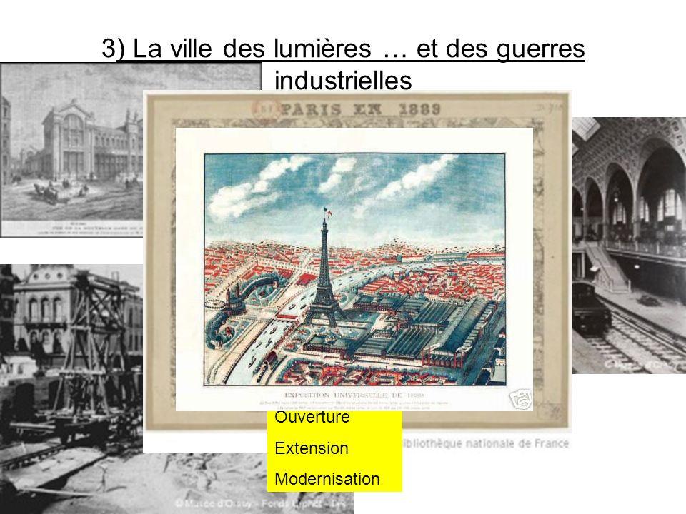 3) La ville des lumières … et des guerres industrielles