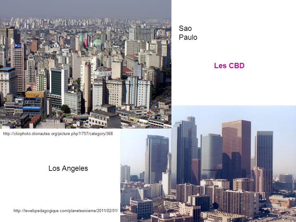 Sao Paulo Les CBD Los Angeles